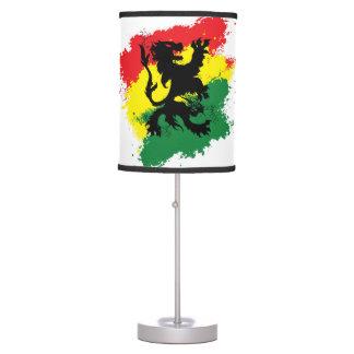 Lâmpada de Rasta: Leão da lâmpada amarela de