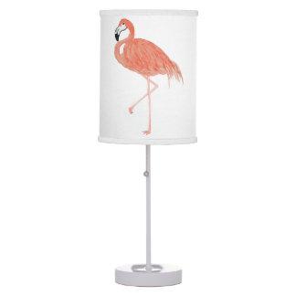 Lâmpada do flamingo da aguarela