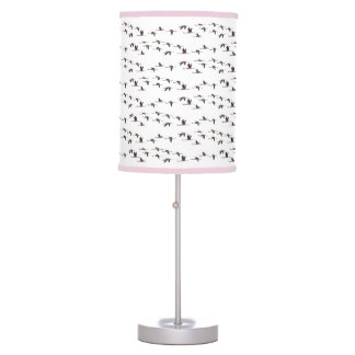 Lâmpada dos flamingos do vôo (escolha a cor)