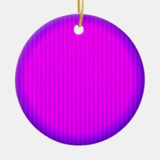 Lâmpada fúcsia do diodo emissor de luz ornamento de cerâmica redondo