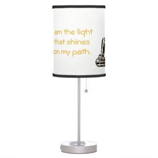 Lâmpada inspirada - seja você