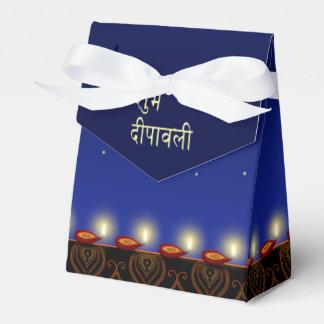 Lâmpada luminosa de Diwali - barraca da caixa do