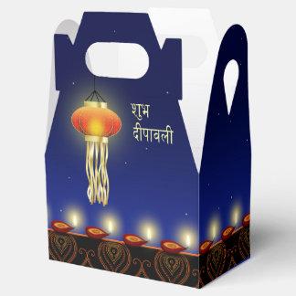Lâmpada luminosa de Diwali - frontão da caixa do