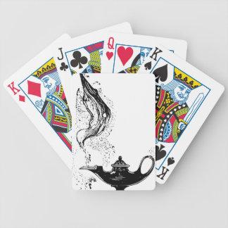Lâmpada mágica baralho para poker