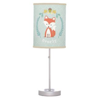 Lâmpada personalizada grinalda do Fox do bebê -