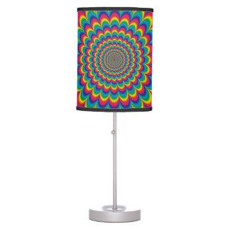 Lâmpada psicadélico da ilusão óptica do arco-íris