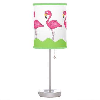 Lâmpada tropical verde cor-de-rosa do pássaro dos