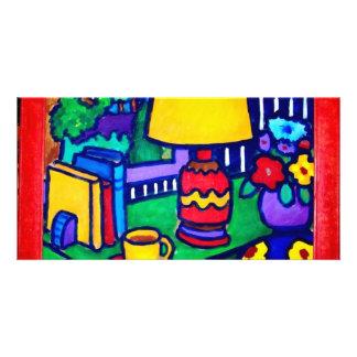 Lâmpada vermelha por Piliero Cartao Com Fotos Personalizado