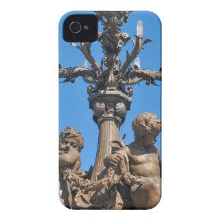 Lamppost velho em Paris, France Capa Para iPhone 4 Case-Mate