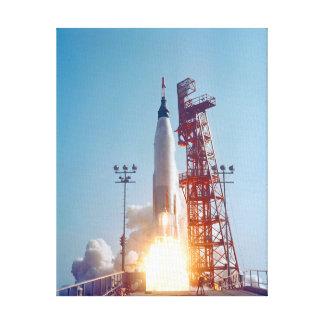 Lançamento de Mercury MA-9 do projeto, fé 7 Impressão Em Tela