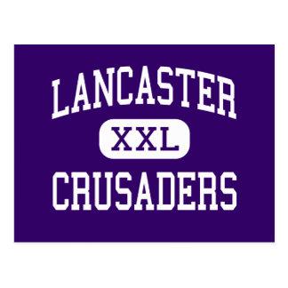 Lancaster - cruzados - católico - Lancaster Cartoes Postais