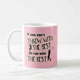 Lance de martelo com a Melhor caneca de café
