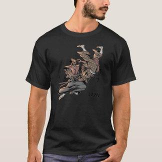 Lance do samurai do judo camiseta