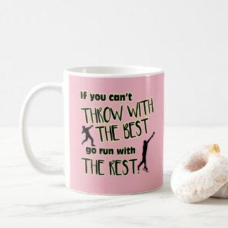 Lance psto tiro com a Melhor caneca de café