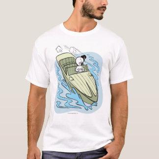 Lancha assustador camiseta