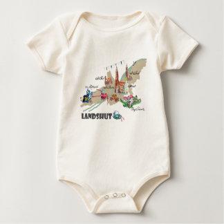 Landshut atração turística body para bebê