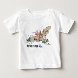 Landshut atração turística camiseta para bebê