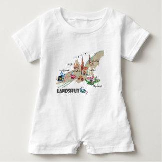 Landshut atração turística macacão para bebê