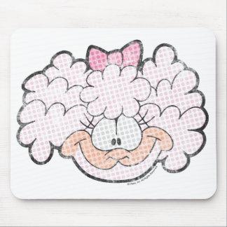 Lanolina o cordeiro Mousepad