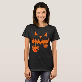 Lanterna de Jack O da abóbora do Dia das Bruxas Camiseta