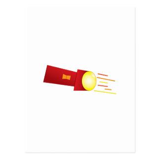 Lanterna elétrica cartão postal