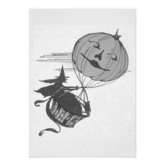 Lanterna monocromática de Jack O do balão de ar da Convite Personalizados