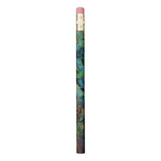 Lápis Arte abstracta Scribbled colorido