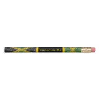 Lápis Bandeira jamaicana - enrugada