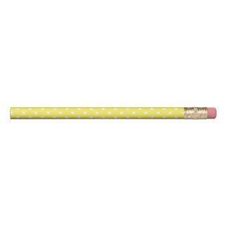 Lápis Bolinhas amarelas