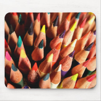 Lápis coloridos mouse pad