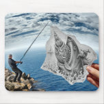 Lápis contra a câmera - tubarão mousepad