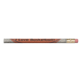 Lápis do basquetebol do amor