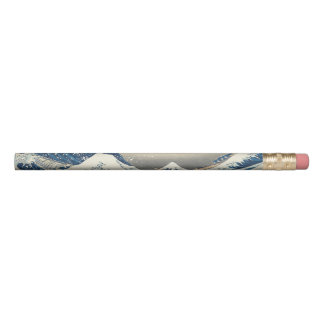 Lápis Hokusai a grande onda fora de Kanagawa