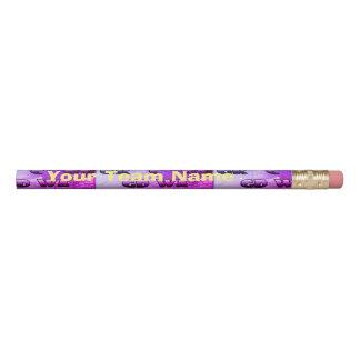 Lápis O Netball posiciona o nome da equipe personalizado