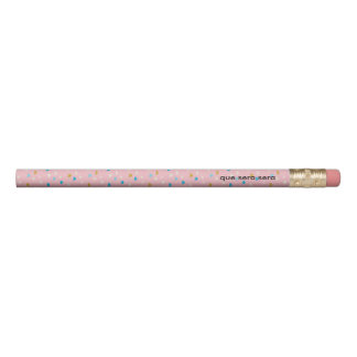 Lápis O rosa do divertimento modelou 2 linhas