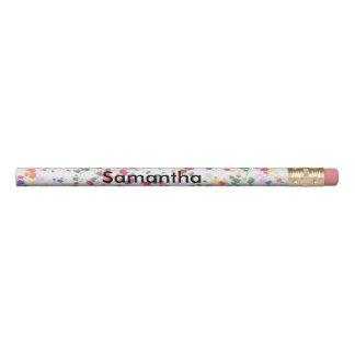 Lápis personalizados da pintura Splatter colorido