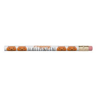 Lápis Presente feliz da doçura ou travessura da abóbora