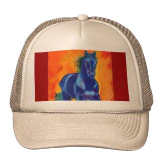 Laranja azul de w do cavalo bone