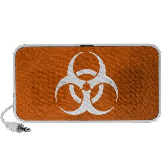 Laranja do Biohazard Caixinhas De Som Para Pc