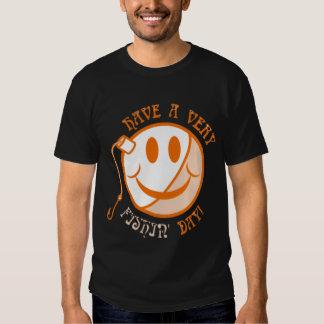 Laranja do dia de pesca camiseta