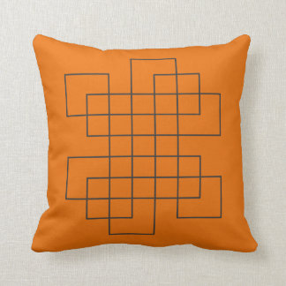Laranja do labirinto almofada