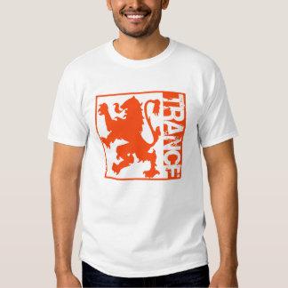 Laranja do leão do Trance Camiseta