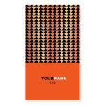 Laranja moderna de Groupon Cartão De Visita