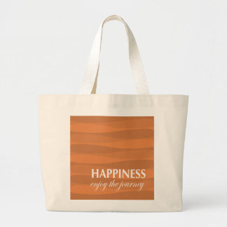 Laranja para a felicidade bolsa para compras