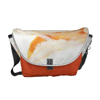 Laranja - saco bolsa mensageiro