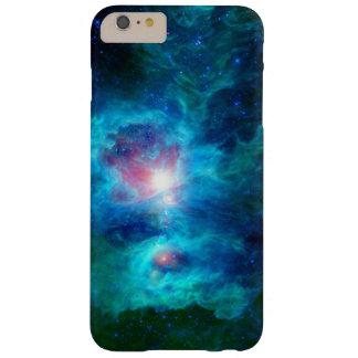 Lareira cósmica Azul Capas iPhone 6 Plus Barely There