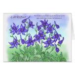 Larkspur Cartão Comemorativo