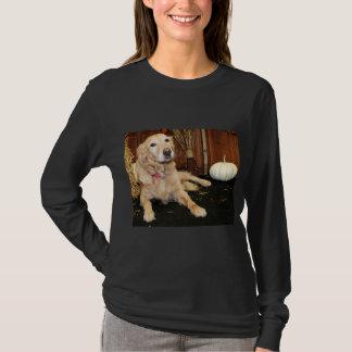 Larry - golden retriever - Photo-2 Camiseta