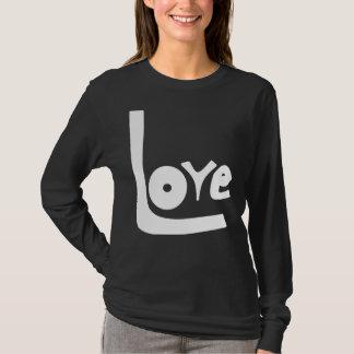 LaRueSkye: Camisa Longo-Sleeved amor