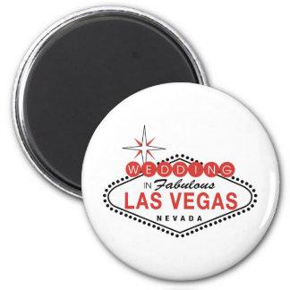 Las Vegas fabuloso que Wedding o modelo customizáv Imã
